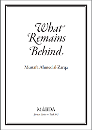 What Remains Behind - A Eulogy